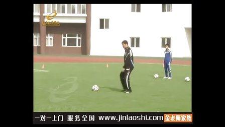 中学七年级体育与健康脚背内侧踢球刘璋金老师家教