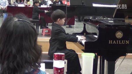 """第十一届""""希望杯""""钢琴音乐节(六岁组)回旋曲 卖报歌"""