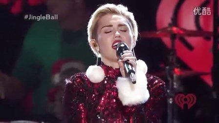 Miley Cyrus - Wrecking Ball (Jingle Ball 2013 )现场版