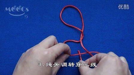 十字结(单线打法)