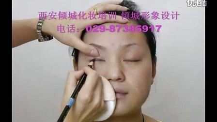 彩妆化妆教学小烟熏妆2