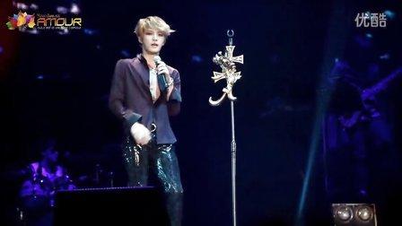 [Amour.Yoonjae]131208 KJJ 南京演唱会 Don't walk away