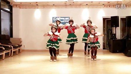 【OC】Crayon Pop - Lonely Christmas (练习室版) MV