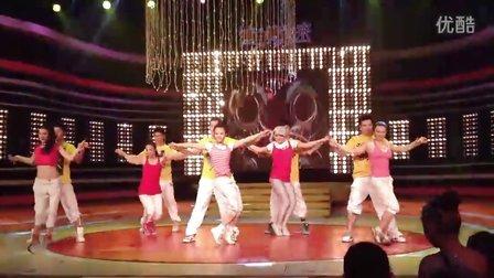 拉丁风情 赵苗苗 央5健身舞起来 2D 3D节目录制现场