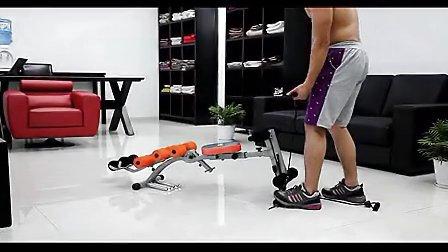 益尔健六合一收腹机专业教练指导视频