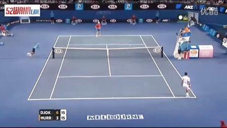 2012澳网男单半决赛小德vs穆雷 1