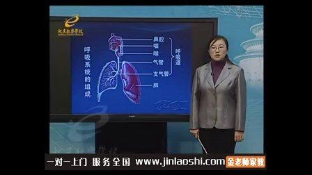 中学七年级生物呼吸系统的结构和功能李小燕金老师家教