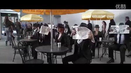 舞出我人生4 精彩片段  快闪族 (静止  街舞  街头艺术)