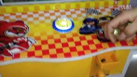 谷米动漫拍拍乐游戏机套牛机西部牛仔退珠子