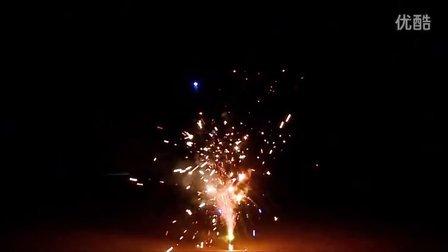 逗逗烟花喷花类超级星光大道