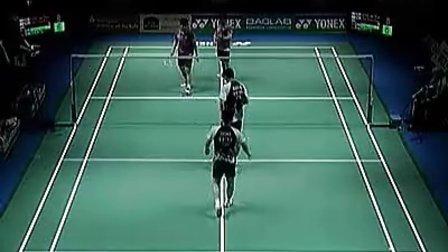 2012年羽毛球德国公开赛男双决赛  洪炜沈烨VS郑在成李龙大.flv