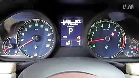 2011款玛莎拉蒂Gran Turismo C 敞篷版深入内外介绍