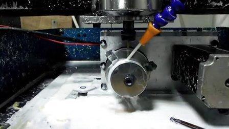 雕刻機四軸加工