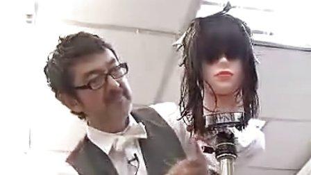 (3)日本川岛文夫团队剪烫现场作品