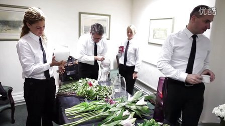 British Butler Academy - Flower Arranging
