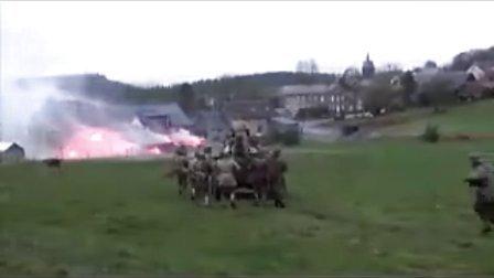 欧洲军迷65周年聚会重现二战西线争夺鲁登道夫桥之战