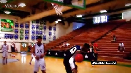 Chris Walker INSANE Poster Dunk On Defender At Adi
