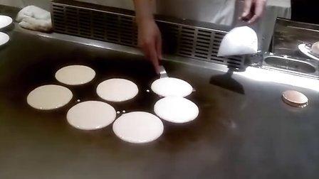 铜锣烧制作过程
