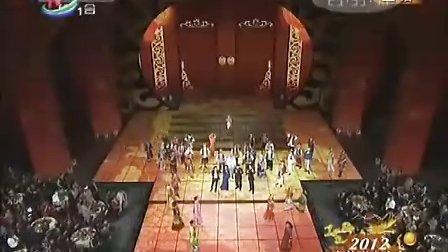 2012年央视龙年春晚:零点钟声龙年倒计时