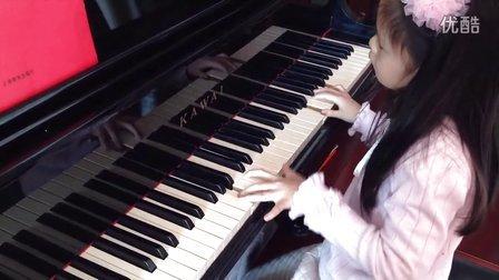 理查德克莱德曼钢琴曲 水边的阿狄丽娜 安琪6岁