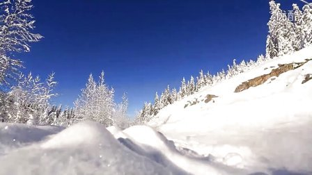 来加拿大BC省玩雪地摩托