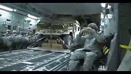 实拍空军空投坦克车_牛人在民间自制绝技 标清
