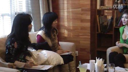 潘春春 携带胸器接受whenever杂志专访