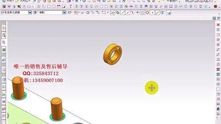 003 内螺纹自动脱模及牙芯走水路(细水口模架)