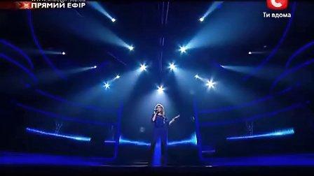 现场演唱 AIDA NIKOLAICHUK X factor 乌克兰