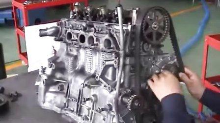 汽车维修_汽车维修学校_免费汽车维修技术网_本田汽车维修视频11-发动机安装1