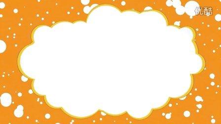 f624-led云朵动态粒子边框视频素材