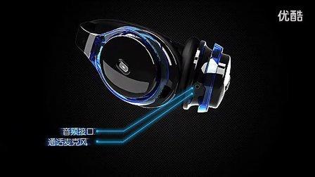 魅动头戴式蓝牙耳机MD3015