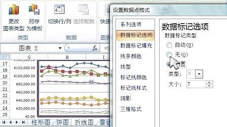 呼和浩特电脑培训班excel教程19_图表_2_饼图,折线
