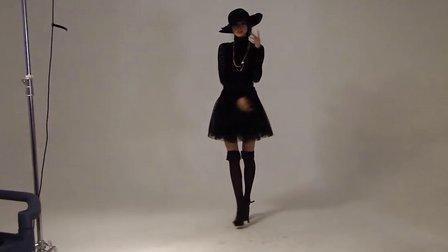 春装新款蓬蓬裙半身裙子韩版蕾丝纱裙黑色网纱波点短裙 包邮打折