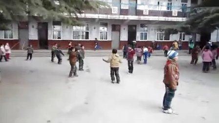 安阳市龙安区烧盆窑小学大课间活动