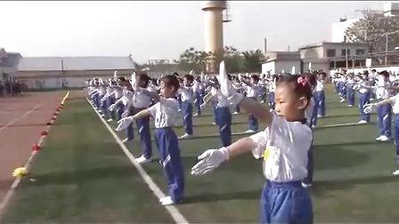 西安泾河工业区中心学校第四届运动会开幕式2012042810593890938