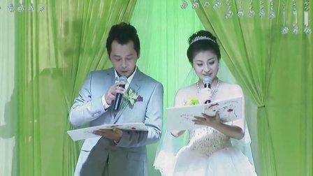 最新高清婚礼视频-主持人陈明
