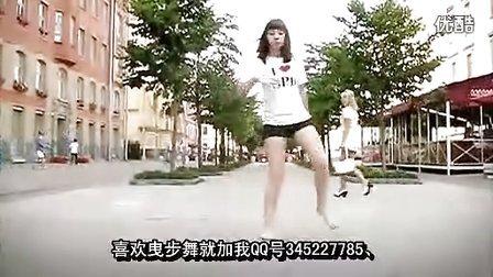 鬼步舞 蚊子社区- 俄罗斯美女Shuffle   Riky曳步舞