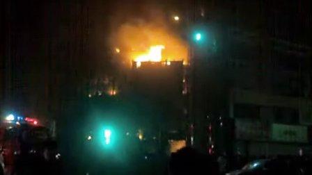 河南省焦作市博爱县生活广场大火