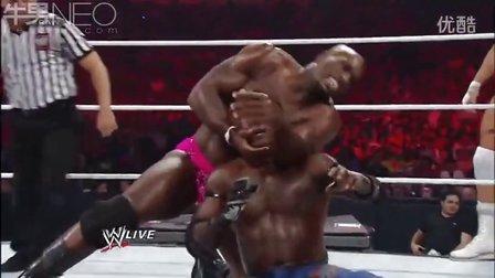 真理罗恩 WWE 科菲 金士顿 真理罗恩 Sin Cara vs The Prime Time