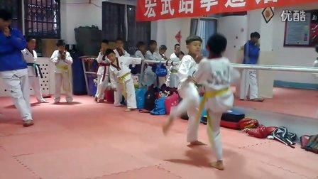 5月14日洪韬壹与师弟徐令一『练习』