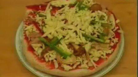 比萨饼的做法_微波炉比萨的做法_米斯特比萨_