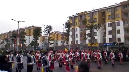 腊月二十六北川羌族自治县民俗巡游