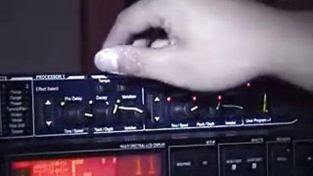 LEXICON MX200效果器面板操作