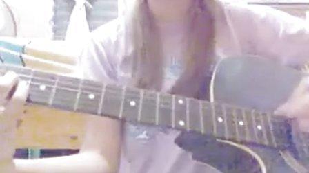 YUI cover Laugh away guitar Kasa8830