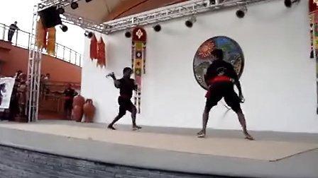 印度软剑表演