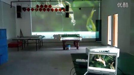 VIVIBRIGHT Large Projector test For PLF8100F_09