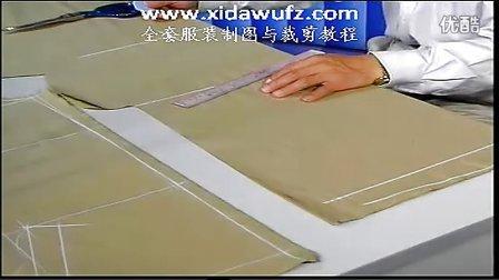夹克衫服装制版裁剪培训教程(喜达屋学校)www.xidawufz.com