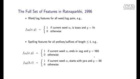 15 - 4 - Features in Log-Linear Models (Part 2) (10-13)