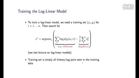 16 - 5 - Parameters in Log-linear Models (3-59)